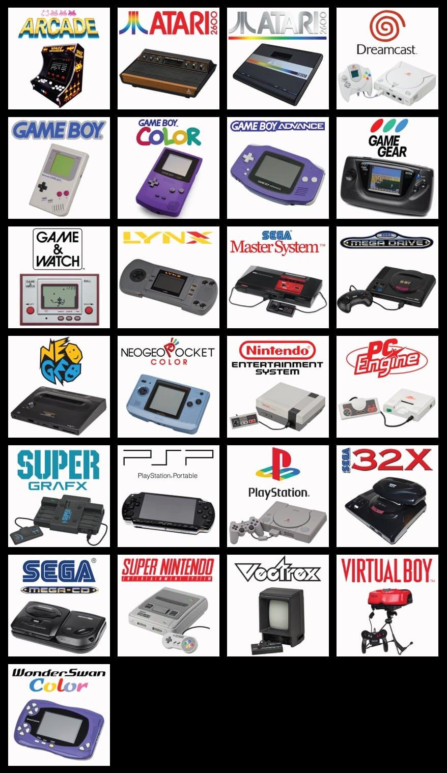 consola-juegos-retro-emulación-recalbox-logos-128